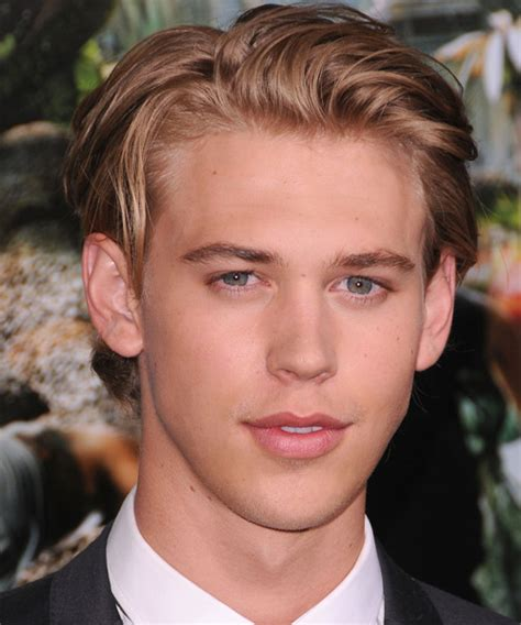 good haircuts austin austin butler short straight casual hairstyle light