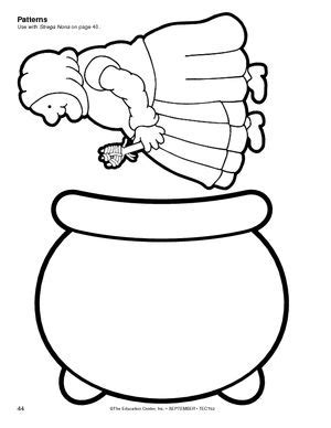 strega nona coloring pages az coloring pages