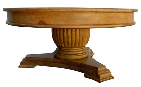 coffee table pedestal base custom reclaimed oak coffee table with pedestal base