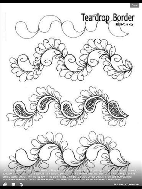 pattern border drawing inspire draw on a blank on pinterest copic copic