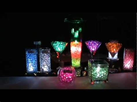 led submersible lights blyss 174 water beads youtube