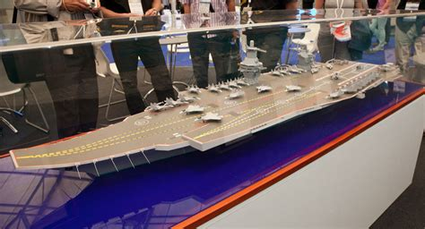 design center nimitz new russian storm supercarrier design wows chinese media