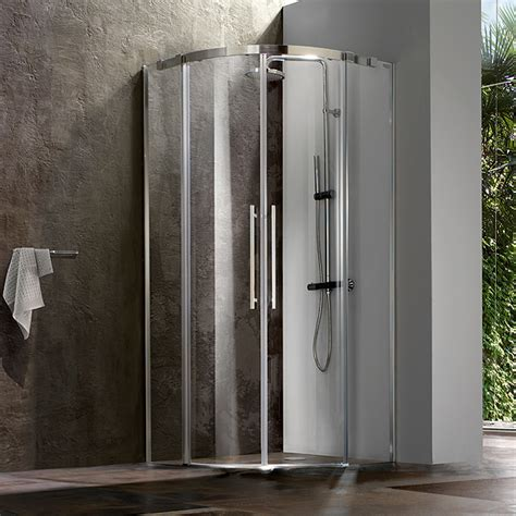inda box doccia blubleu presenta modus una linea di box doccia si