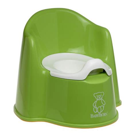 The Potty Chair by Babybjorn Potty Chair Green Tjskids Vancouver Baby