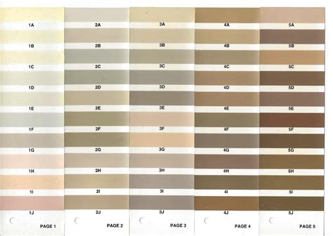 28 beige paint color chart beige paint color chart images beige paint color
