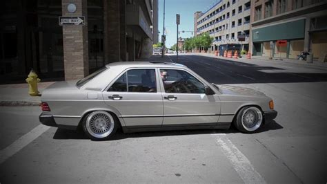bagged mercedes s bagged mercedes w201