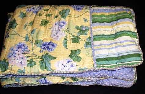 hydrangea comforter waverly hydrangea comforter set yellow blue green white