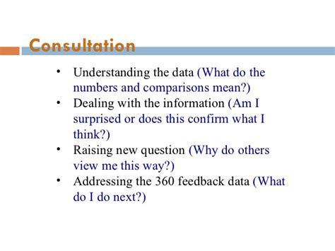 Why I Am Doing Mba by Feed Back 360 Apprisal Mba