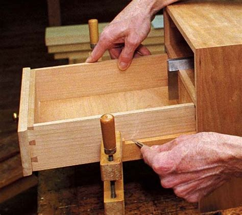 wooden drawer slides wax full extension wooden slides finewoodworking