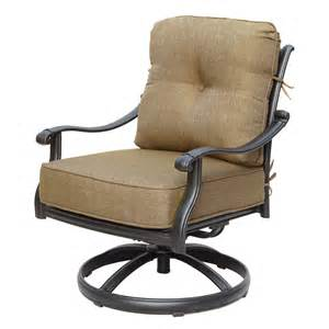 Patio Furniture Swivel Rockers by Darlee San Marcos Outdoor Swivel Rocker Club Chair Atg