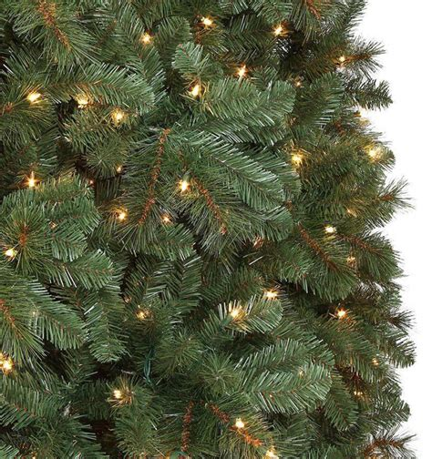 15 ft pre lit led wesley pine artificial tree x 6558 tips with 2400 warm white lights