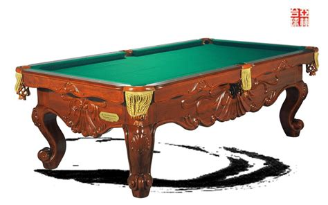 Handmade Pool Table - yalin brand handmade carving wooden 8 ft billiard pool