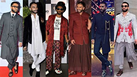 dressing sense ranveer singh the man who is at ease in almost everything