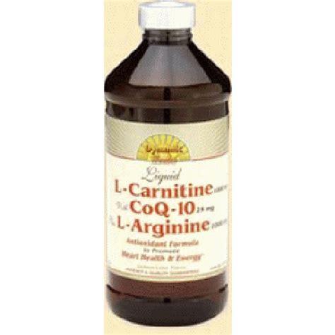 Arginine And Detox by Coenzyme Q10 L Arginine L Carnitine Acetyl Carnitine