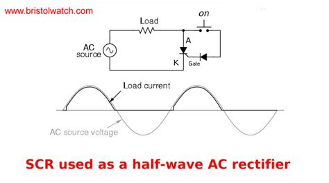scr diode basic triac scr projects circuits tutorial