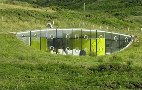 Berm Houses by The Coolest Earth Houses Around The World Green Living