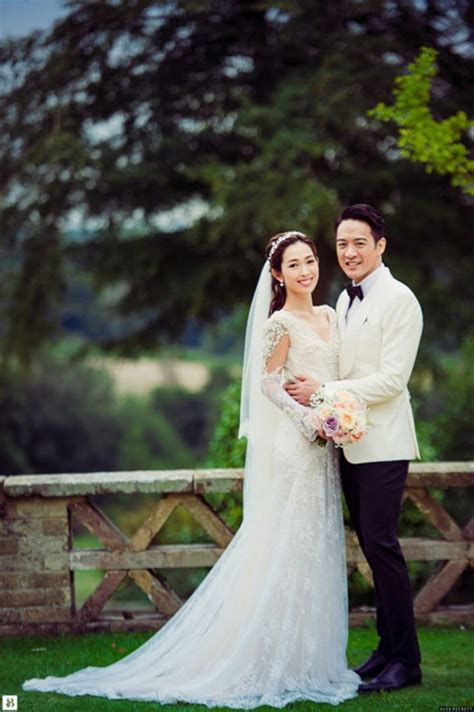 hong kong actress wedding hong kong actress sarah song actor jason chan at