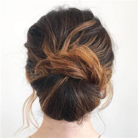 casual chignon hairstyles easy updos hairstyles for long hair hair