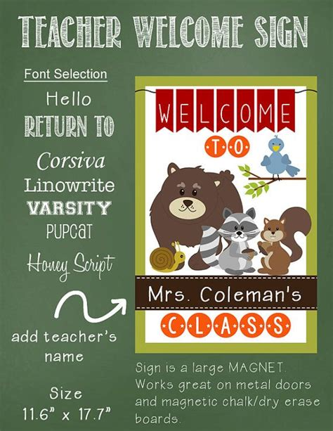 student section names ideas 25 best ideas about teacher welcome signs on pinterest