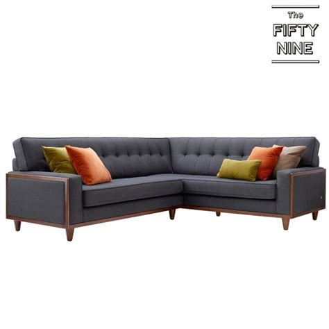G Plan Vintage 59 Sofa by G Plan Vintage Fifty Nine Corner Sofa In Fabric At Smiths
