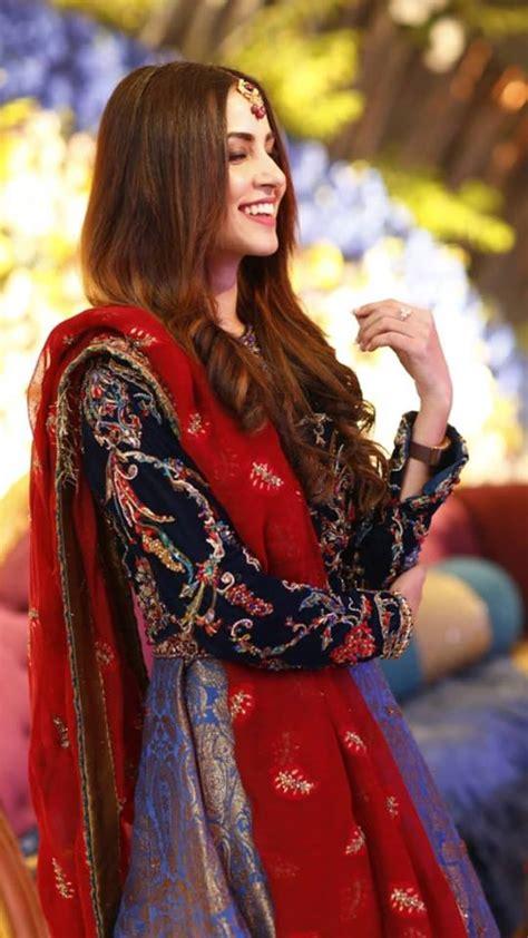 beautiful nimra khan   wedding event pakistani drama celebrities