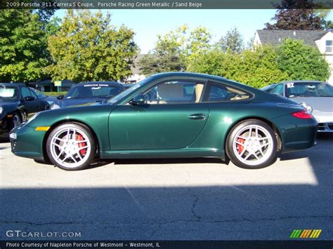 porsche racing green 2009 porsche 911 s coupe in porsche racing green