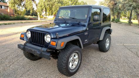 2006 jeep wrangler top 2006 jeep wrangler x 4x4 top 6 speed great shape