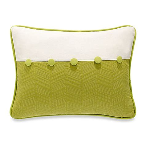 green throw pillows for bed hiend accents fern quilted oblong throw pillow in