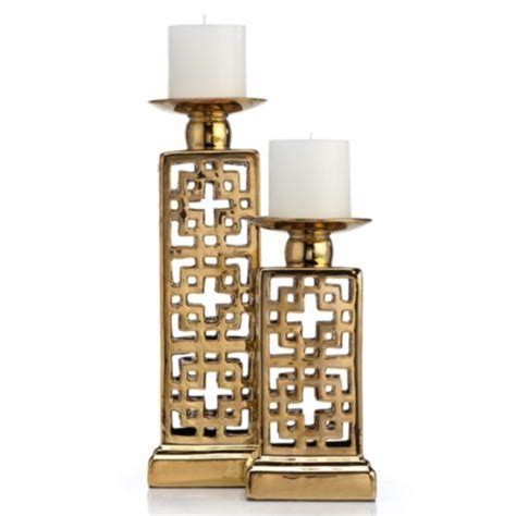 antonio gold pillar holder
