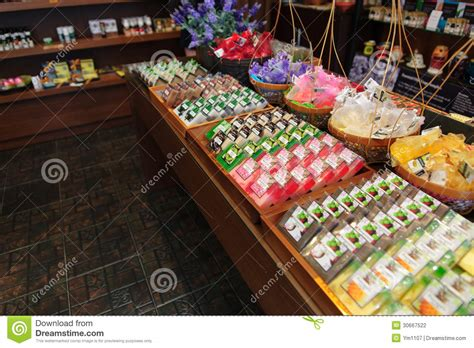 Handmade In Thailand - handmade soap in chiang mai thailand stock photo image