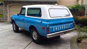 restored 1972 chevrolet k5 blazer bring a trailer
