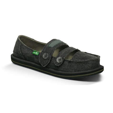 sanuk cadet s shoes black 5 ebay