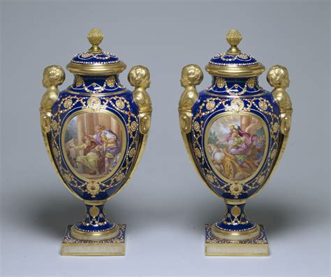 vasi sevres file s 232 vres porcelain manufactory pair of vases
