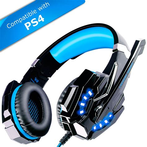 ps4 headset best ecoopro gaming headset ps4 headset gaming headphones with