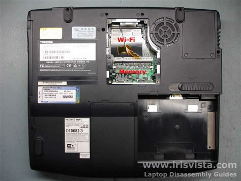 toshiba satellite 1905 disassembly guide