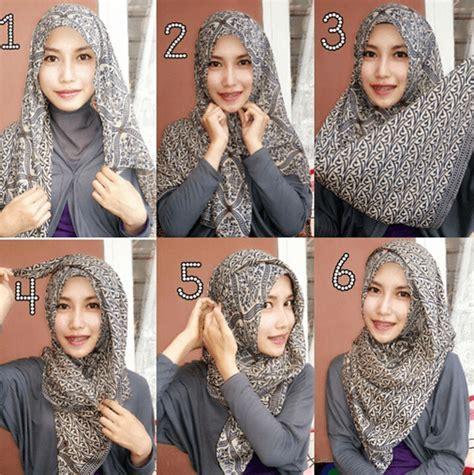 tutorial hijab segitiga simple tanpa ciput 5 cara gang pakai pashmina dari mulai milih bahan