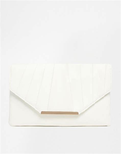 White Clutch white clutch bag new look