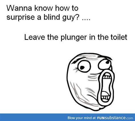 Blind Puns Surprising Blind People Funny Pinterest People