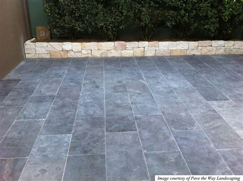 Blue Honed Limestone Pavers Limestone Patio Pavers