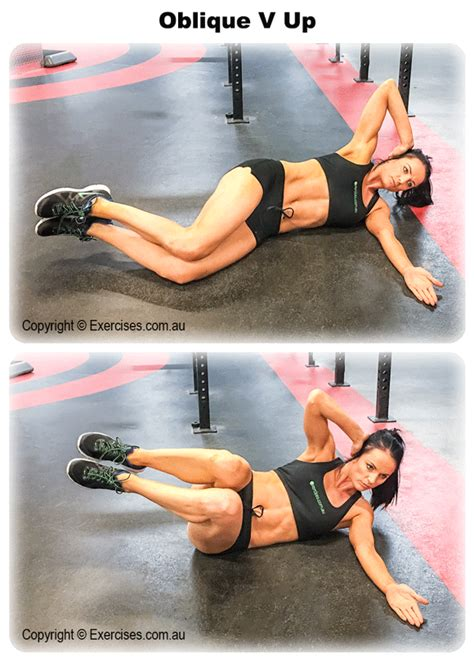 oblique v up exercises au