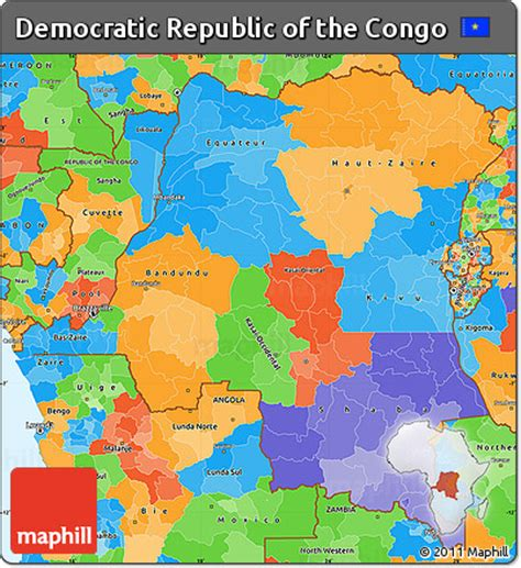 political map of the republic free political simple map of democratic republic of the congo