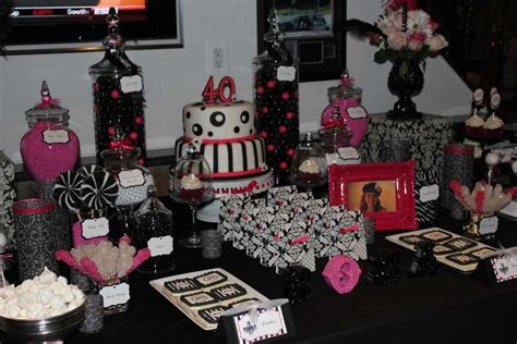 birthday table decorations ideas  adults table