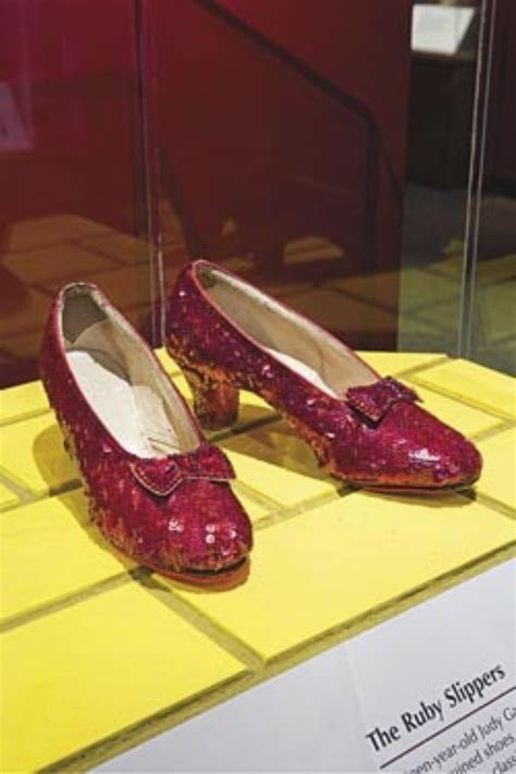 which smithsonian has ruby slippers for those ruby slippers there s no place like home