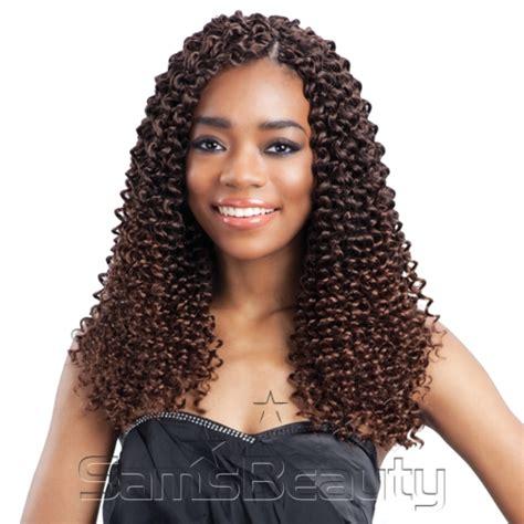 freetress crochet hair freetress synthetic hair crochet braids water wave bulk 12