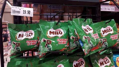 Milo Energy Cube 10 Pcs Snack Milo Bestseller jaya grocer selling milo energy cube mini me insights