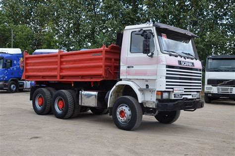 scania 113h 360 3 sides tipper tipper from poland for sale
