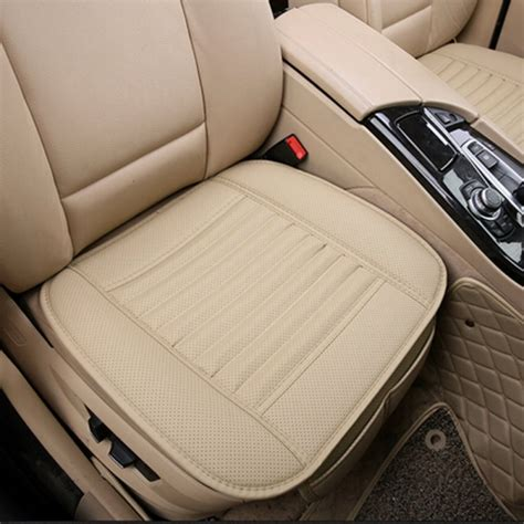 leather seat protector for car seat universal seat cushion pu leather car seat cover for auto