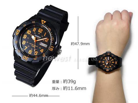 Jam Tangan Original Pria Casio Mrw 200h 1b2 jual jam tangan casio mrw 200h 4bvdf original