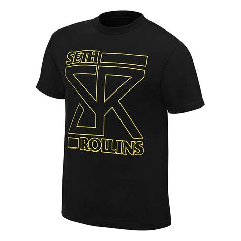 Seth Rollins Vs Finn Balor Limited Edition Tees Njpw Ufc seth rollins quot the architect quot authentic t shirt us