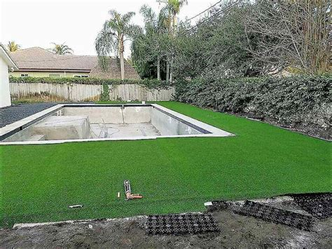 backyard artificial grass airdrain artificial grass drainage pool side turf and drainage